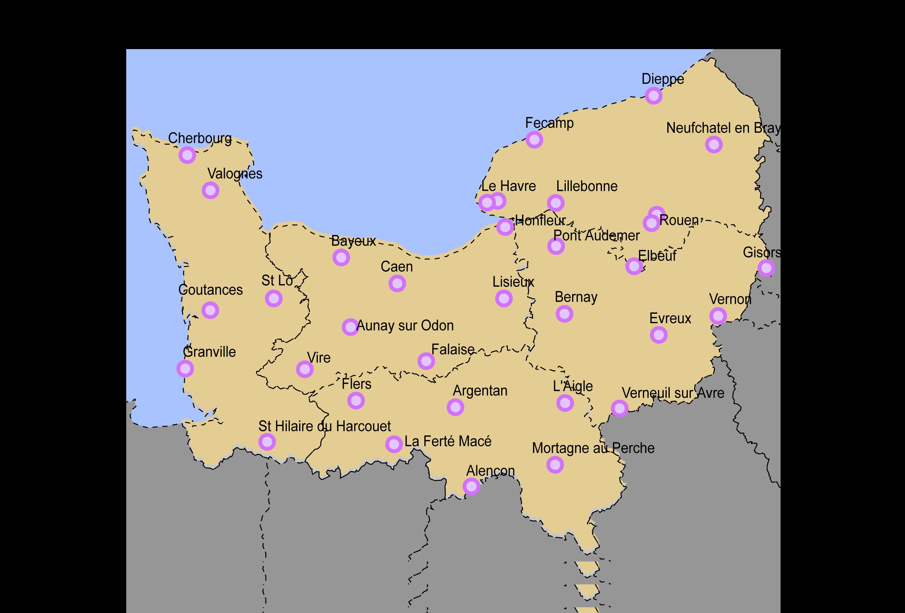 villes de normandie - Photo